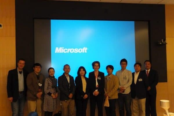 Visiting Microsoft headquarters in Seattle