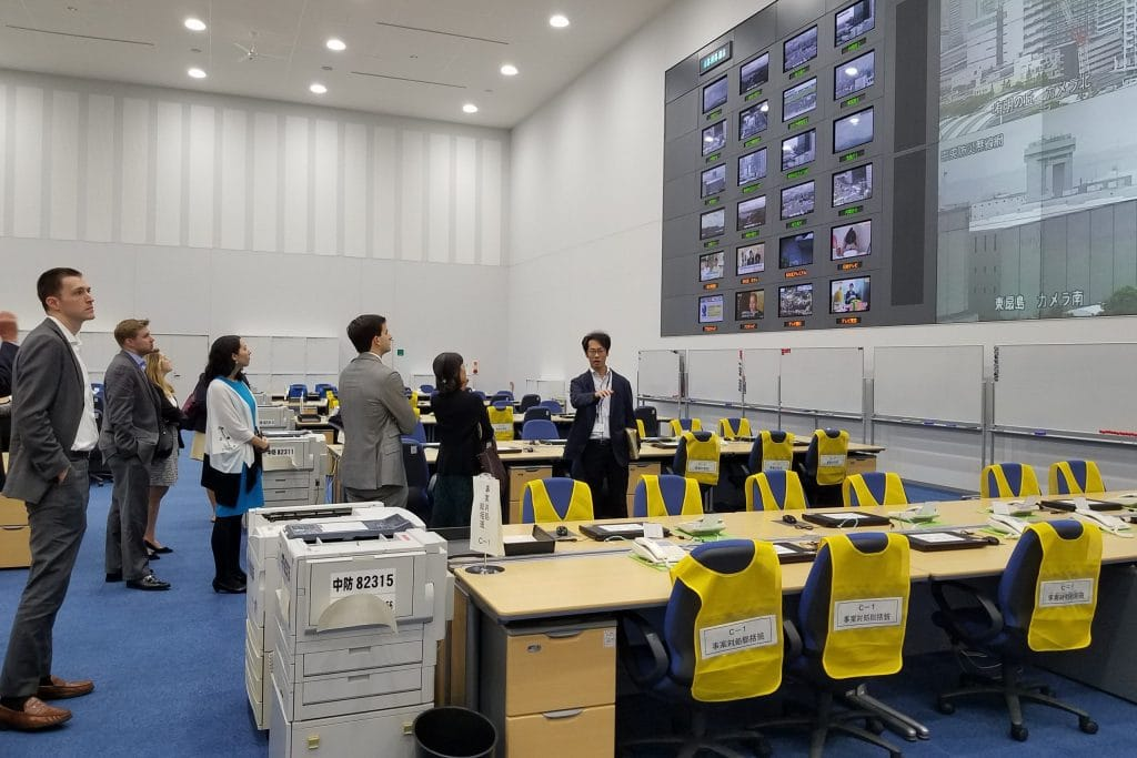 Site Visit to The Tokyo Rinkai Disaster Prevention Park